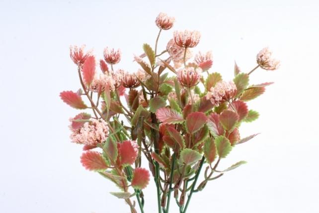 Искусственное растение - Листики декоративные персиковые