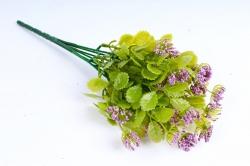Искусственное растение - Листики декоративные сиреневые