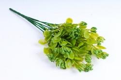 Искусственное растение - Листики декоративные зелёные
