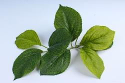 Искусственное растение - Листья гортензии (из 3х шт) 23см (3шт в уп) SN570