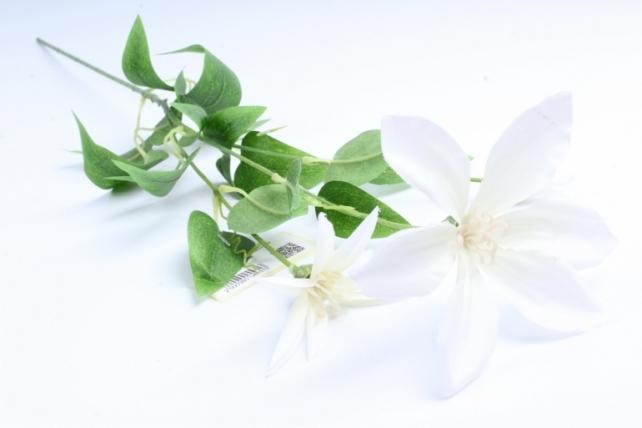 Искусственное растение - Магнолия ветка белая Тцк