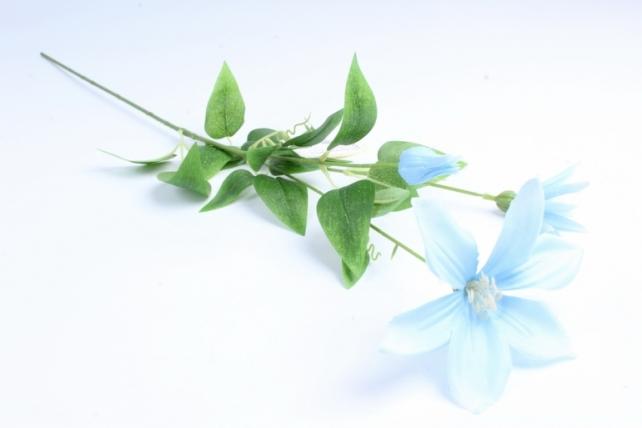 Искусственное растение - Магнолия ветка голубая  Тцк