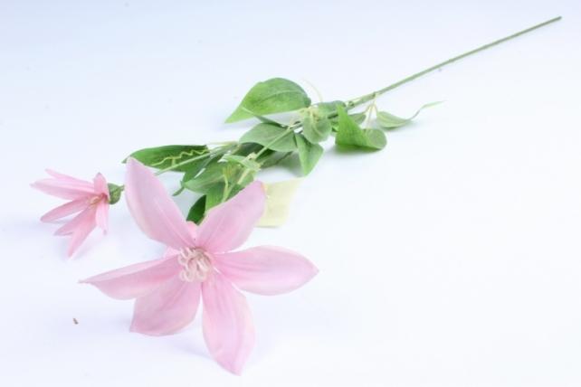 Искусственное растение - Магнолия ветка сиреневая  Тцк
