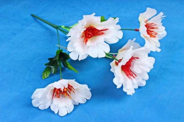 Искусственное растение - Маки белые
