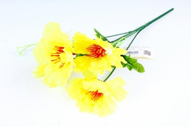 Искусственное растение - Маки жёлтые