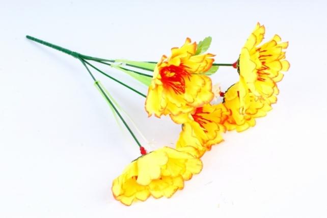 Искусственное растение - Маки неон