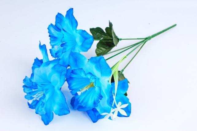 Искусственное растение - Нарциссы синие