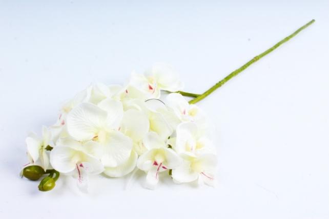 Искусственное растение - Орхидея белая  SUN 396