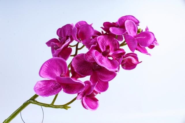 Искусственное растение - Орхидея фиолетовая  SUN 396