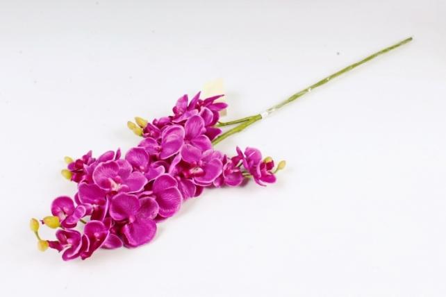 Искусственное растение - Орхидея   фиолетовая  SUN230