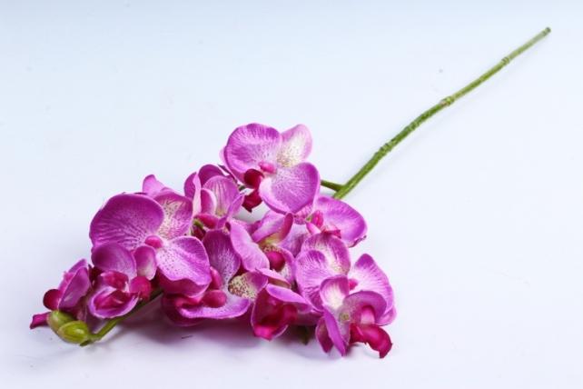 Искусственное растение - Орхидея ярко-сиреневая  SUN 396