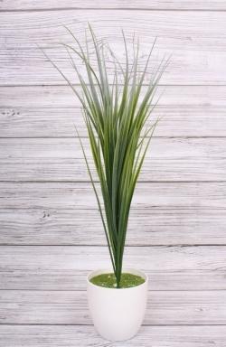 Искусственное растение - Осока белая 50 см