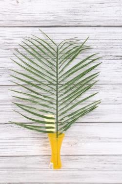 Искусственное растение - Пальма 42 см В2182