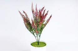 Искусственное растение - Папоротник Орляк бордо