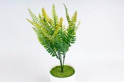 Искусственное растение - Папоротник Орляк жёлтый