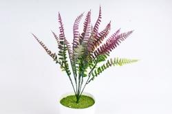 Искусственное растение - Папоротник Орляк малиновый