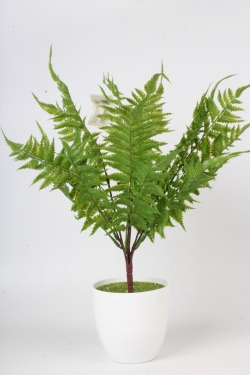 Искусственное растение - Папоротник Страусник зелёный Н=48 см Б10651