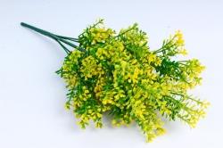 Искусственное растение - Пастушья сумка жёлтая