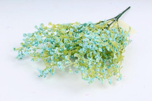 Искусственное растение - Пастушья сумка Пастель голубая