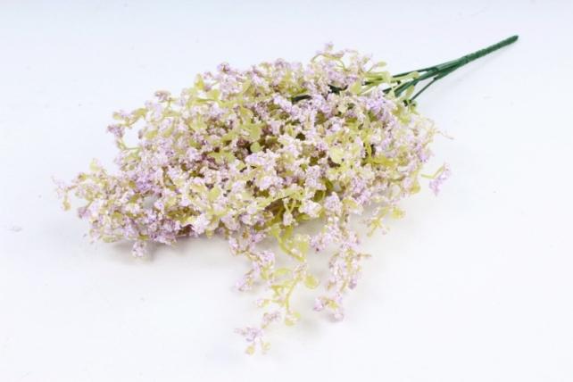 Искусственное растение - Пастушья сумка Пастель сиреневая