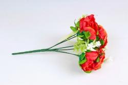Искусственное растение - Пиончики оранжевые Б10731