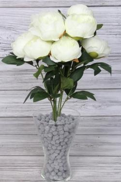 Искусственное растение - Пионы 50 см белые