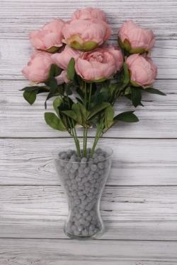 Искусственное растение - Пионы 50 см пудровые