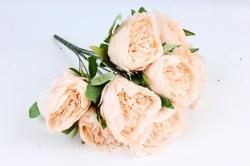 Искусственное растение - Пионы анемовидные  кремовые