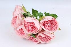 Искусственное растение - Пионы анемовидные  розовые