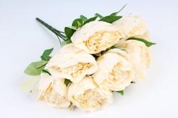 Искусственное растение - Пионы анемовидные  шампань