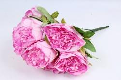 Искусственное растение - Пионы анемовидные  сиренево-розовые