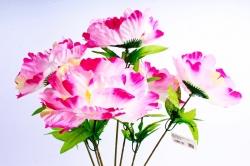 Искусственное растение - Пионы бело-розовые