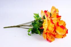 Искусственное растение - Пионы оранжевые