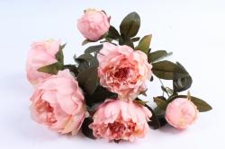 Искусственное растение - Пионы персик
