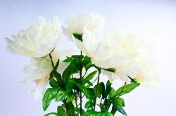 Искусственное растение - Пионы шампань