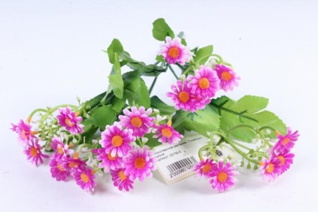 Искусственное растение - Пиретрум фуксия