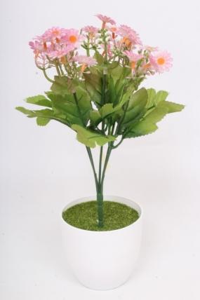 Искусственное растение - Пиретрум лиловый h=30 см.