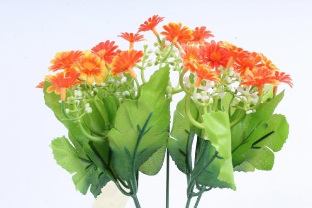 Искусственное растение - Пиретрум оранжевый