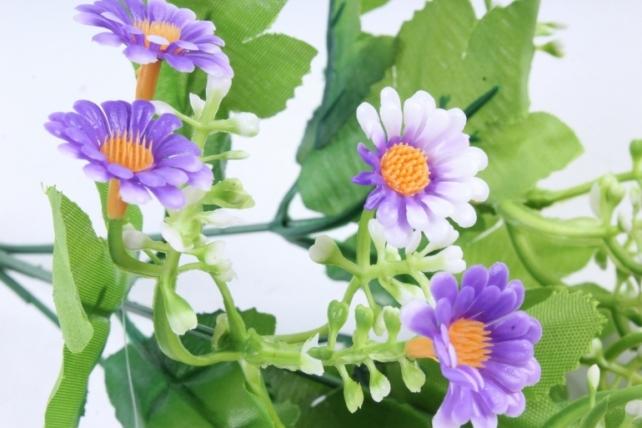 Искусственное растение - Пиретрум сиреневый
