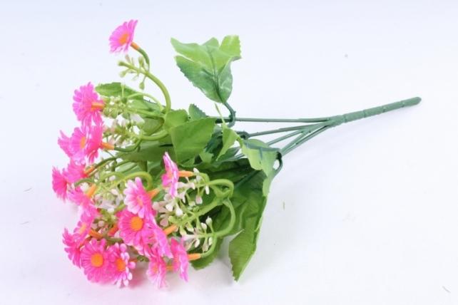 Искусственное растение - Пиретрум ярко-розовый