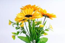 Искусственное растение - Подсолнухи мелкие
