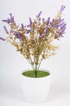 Искусственное растение - Полынь фиолетовая Н=37 см Б10932