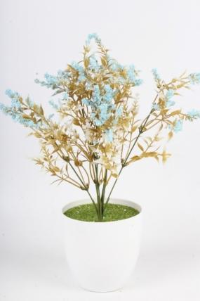 Искусственное растение - Полынь голубая Н=37 см Б10932