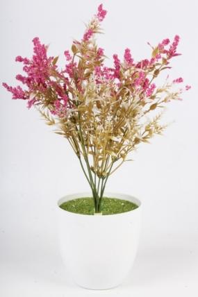 Искусственное растение - Полынь малиновая Н=37 см Б10932