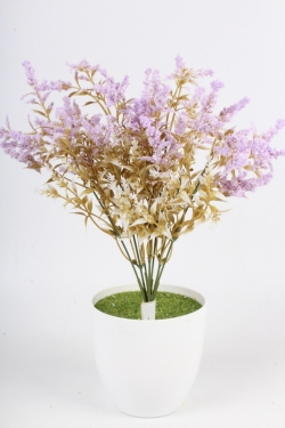 Искусственное растение - Полынь сиреневая Н=37 см Б10932