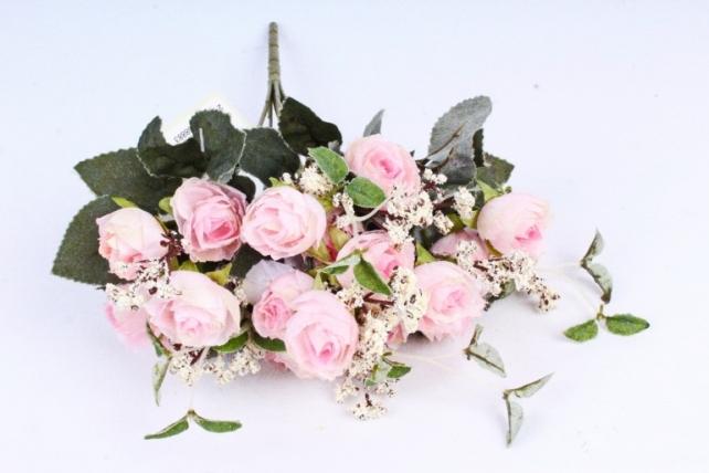 Искусственное растение - Ранункулюс Ретро светло-розовый