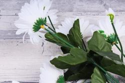 Искусственное растение - Ромашки белые