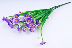 Искусственное растение - Ромашки мелкие фиолетовые