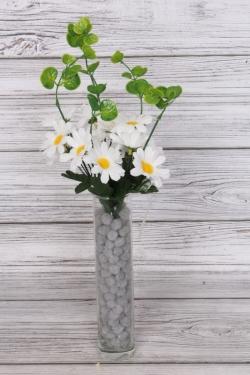 Искусственное растение - Ромашки с декором