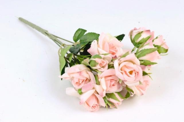 Искусственное растение - Роза Англичанка   розовая Б10203